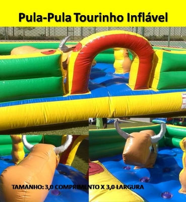 Pula Pula Tourinho Inflavel