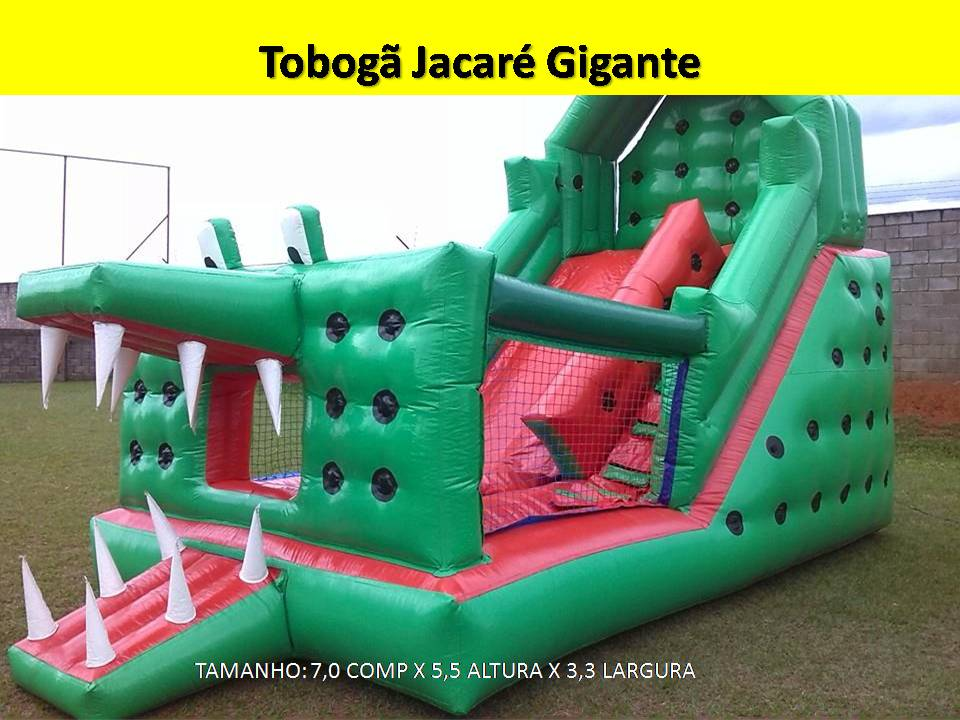 Tobogã Jacaré Gigante