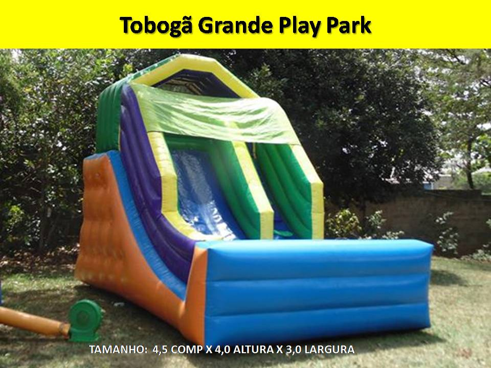 Tobogã Grand Play Park